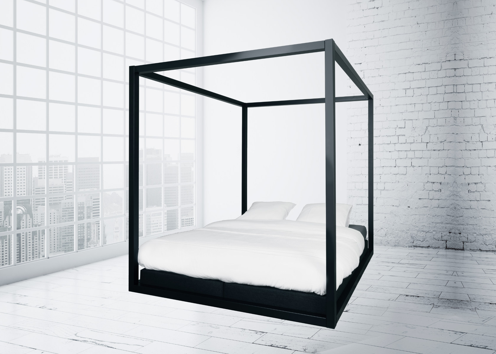 designbett the loft 180x220cm metallbettenshop. Black Bedroom Furniture Sets. Home Design Ideas