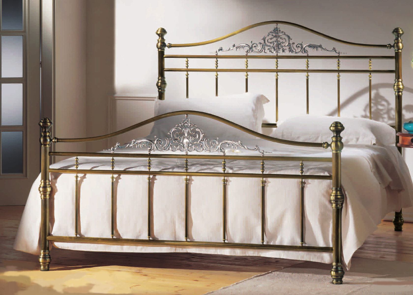 messingbett amarante metallbettenshop. Black Bedroom Furniture Sets. Home Design Ideas